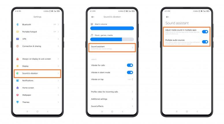 Xiaomi cập nhật tính năng chỉnh âm lượng cho từng ứng dụng trên MIUI 12